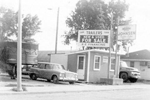 Original building - 1950's